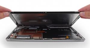 Surface Pro 3 сложно разобрать и почти невозможно починить