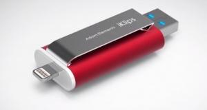 Накопитель iKlips для iPhone и iPad – расширяем память (видео)