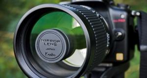 Обзор зеркально-линзового объектива Kenko 400mm f/8