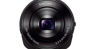 Накладная камера Cyber-shot DSC-QX10: возможности камеры, удобство смартфона