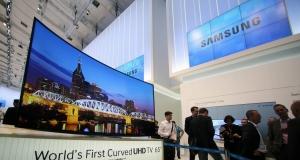 IFA 2013: дугообразные UHD-телевизоры Samsung