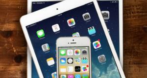 Apple оснастила  iPhone 6, iPad Air 2 и iPad mini 3 сенсором Touch ID