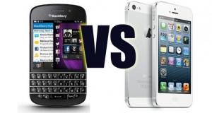 BlackBerry 10 vs. Apple iOS 8: кого выбирает корпоративный сегмент?