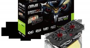 Геймерская видеокарта ASUS Strix GTX 960 в Украине