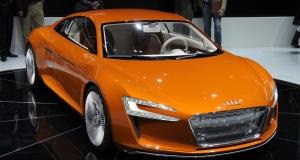 Audi представит новый электромобиль R8 E-Tron с ультрасовременным дизайном