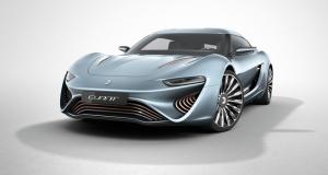 Суперкар Quant e-Sportslimousine - беспрецедентный конкурент Tesla, работающий на соленой воде