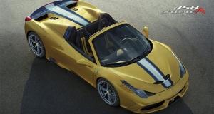 В Париже дебютировал спортивный автомобиль Ferrari 458 Speciale A