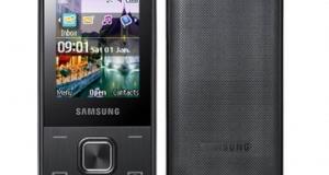 Новый слайдер Samsung E2330