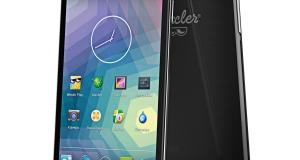 Первый смартфон WEXLER - ZEN 5