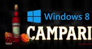 Интересное сотрудничество Campari и Windows 8