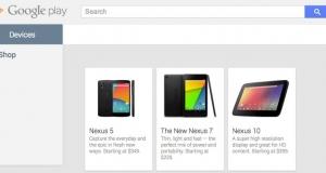 Nexus 5 появился в Google Play Store за $349 (€255)