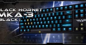 Обзор игровой клавиатуры Armaggeddon Black Hornet MKA-3