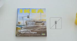 IKEA взяла пример с Apple для создания рекламы своего нового каталога «КнижкаКнижка»