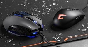 Відчуй функціональність та стиль в дії: огляд ігрових мишей та поверхні бренду Aorus