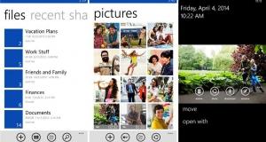 OneDrive для Windows Phone получил новые функции