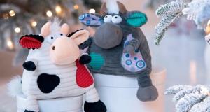 Символ 2021 року: корівки та компанія! Same Toy – іграшки, які приємно дарувати й отримувати в подарунок