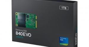Компактный твердотельный накопитель Samsung 840 EVO mSATA SSD на 1 ТБ