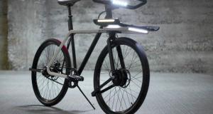 Электровелосипед Denny оснащен умными фарами и встроенным замком