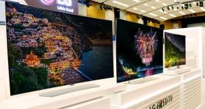 Новые OLED-телевизоры LG
