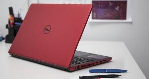 Обзор ноутбука Dell Inspiron 5558: красное и черное