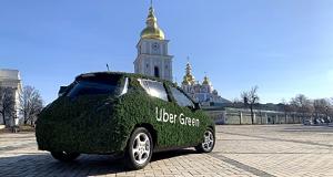 Uber запускає в Києві повністю електричний сервіс – Green