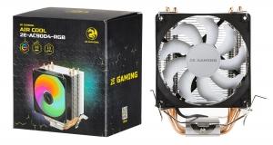 2E GAMING AIR COOL (2E-AC90D4-RGB): охолодження для процесора із показником TDP 130W