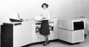 Юбилей первого лазерного принтера Xerox 9700