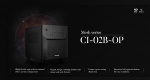 CHIEFTEC CI-02B-OP: Новий багатофункціональний корпус для ПК у формі куба форм-фактору m-ATX