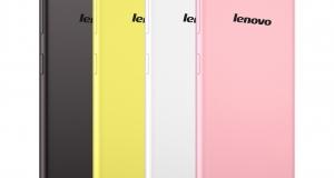 Смартфон Lenovo S60 с 5-дюймовыйм HD дисплеем