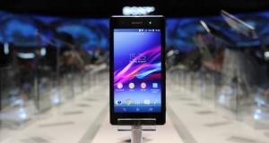 В США стартовали продажи смартфона Sony Xperia Z1 Compact