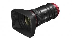 Новые кинообъективы Canon с сервоприводом