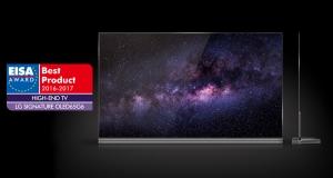 LG OLED TV снова победитель EISA Awards