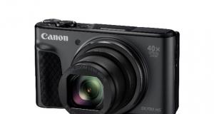 Компактна камера Canon PowerShot SX730 HS із суперзумом