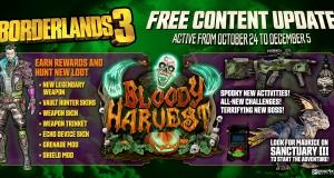 У Borderlands 3 вийшла нова безкоштовна подія – Bloody Harvest