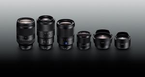 Новые полнокадровые объективы Sony α с байонетом E