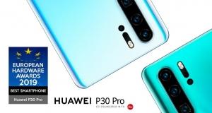 Huawei визнано «Найкращим смартфоном» за версією European Hardware Awards 2019
