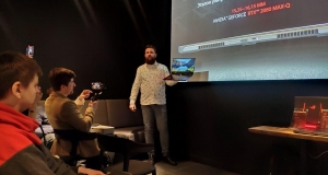 Презентація ігрових ноутбуків ASUS з графікою NVIDIA GeForce RTX 20xx