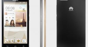 Huawei представила смартфон Ascend P7 mini