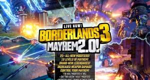 Borderlands 3: режим Mayhem 2.0 і новий сезонний захід