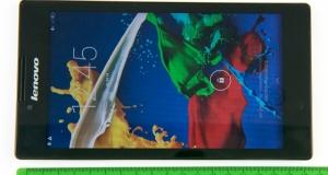 Видеообзор планшета Lenovo TAB 2 A7-30HC: работа с комфортом
