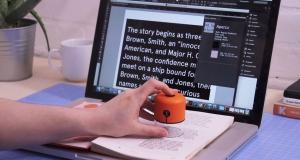 Этот волшебный гаджет может сканировать текст и опознать его шрифт