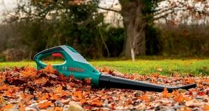 Легкий і зручний садовий повітродув Bosch ALB 18 Li