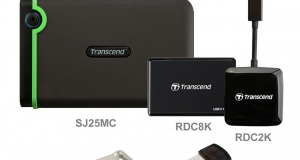 Широкая линейка продуктов Transcend для мобильных устройств с USB Type-C