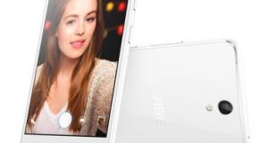 Lenovo VIBE S1 - смартфон с двойной фронтальной камерой