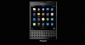 Стартуют продажи BlackBerry Passport. Известна цена нового флагмана