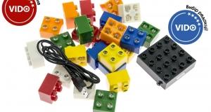 Огляд світлодіодного конструктора Light Stax Junior: підсвіти улюблені іграшки