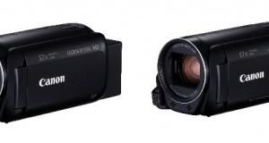 Canon анонсує вихід нових відеокамер лінійки LEGRIA HF