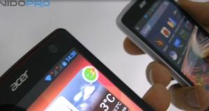 Видеосравнение Acer Liquid Z4 и Liquid E3