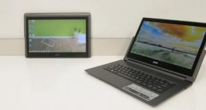 Видеообзор многорежимного ноутбука Acer Aspire R13: идеальный трансформер