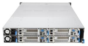 Перший у світі сервер ASUS формату 2U6N на базі платформи EPYC з високою щільністю монтажу компонентів